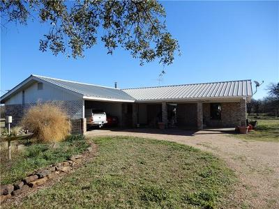 Marble Falls Single Family Home Pending - Taking Backups: 101 Big Oak Ln