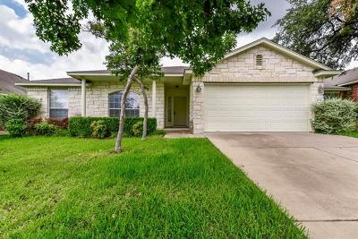 Round Rock Single Family Home For Sale: 4124 Rocky Mountain Trl