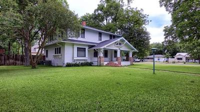 Taylor Single Family Home For Sale: 504 W 9th St