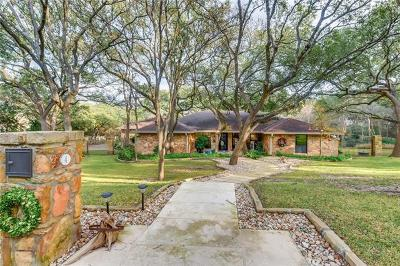 West Lake Hills Single Family Home Pending - Taking Backups: 4 Las Brisas Dr