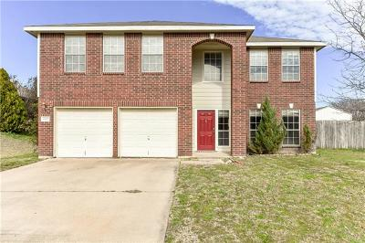 Coryell County Single Family Home For Sale: 1502 Judy Ln