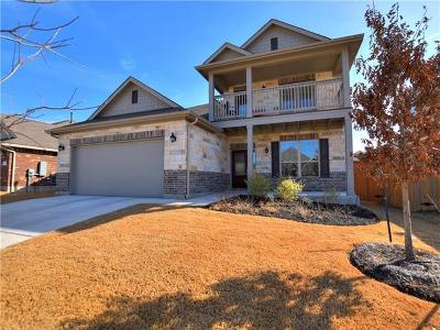 Round Rock Single Family Home For Sale: 3623 Hermann St