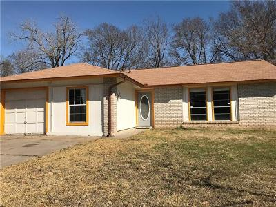 Hays County, Travis County, Williamson County Single Family Home Pending - Taking Backups: 4412 Revere Rd