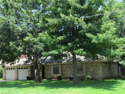 Georgetown Single Family Home For Sale: 3407 Broken Spoke Trl