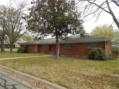 Georgetown Single Family Home For Sale: 1601 Pecan St