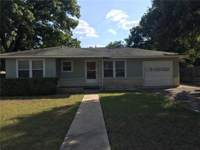 New Braunfels Single Family Home For Sale: 555 N Union Ave