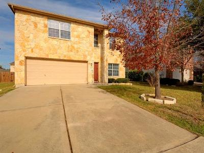 Manor Single Family Home For Sale: 18216 Maxa Dr