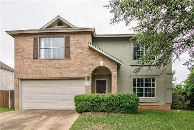 Pflugerville Single Family Home For Sale: 1112 Mason Bend Dr