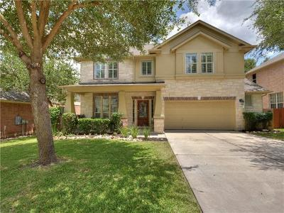Round Rock Single Family Home For Sale: 3427 Ranch Park Trl