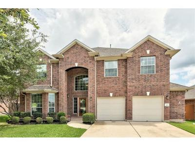 Round Rock Single Family Home For Sale: 5105 Sendero Springs Dr