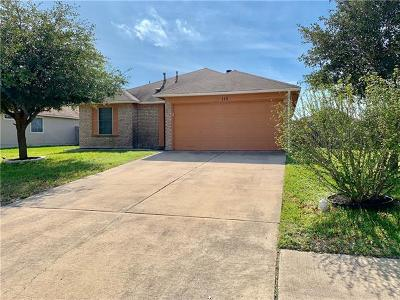 Hutto Rental For Rent: 110 Meadowside Dr