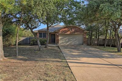 Cedar Park Single Family Home For Sale: 835 Lone Star Dr