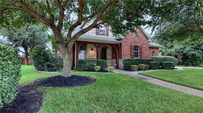 Round Rock Single Family Home For Sale: 2402 Silent Brook Trl