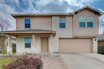 Manor Single Family Home For Sale: 18409 Great Falls Dr