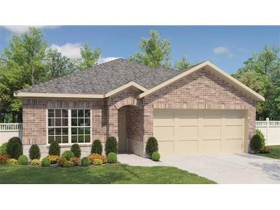 Round Rock Single Family Home For Sale: 2009 Birkby Ct