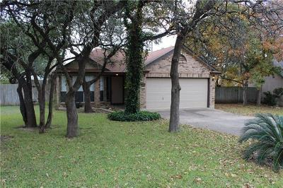 Cedar Park Single Family Home Pending - Taking Backups: 3205 Blazing Star Trl