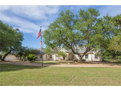 Dripping Springs Single Family Home For Sale: 160 Cross Creek