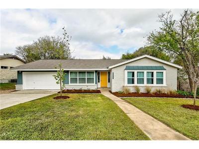 Austin Single Family Home For Sale: 6506 Auburnhill St