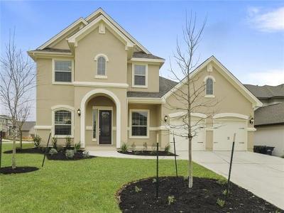 Leander Single Family Home For Sale: 1728 Siena Sunset Rd