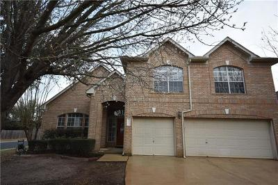 Round Rock Single Family Home Pending - Taking Backups: 4414 Hunters Lodge Dr