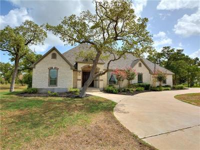 Bastrop TX Single Family Home For Sale: $444,000
