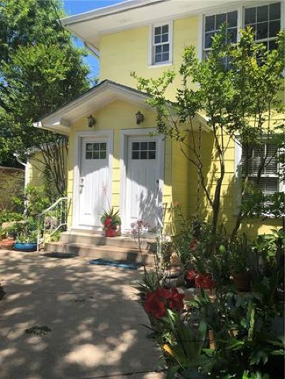 Austin Rental For Rent: 1404 W 12th St #D