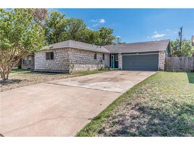 Pflugerville Single Family Home Pending - Taking Backups: 1215 Pitcairn Dr