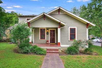 Austin Single Family Home For Sale: 801 E 44th St