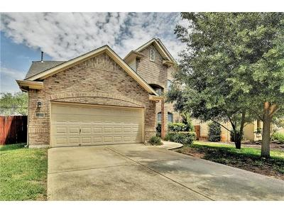 Round Rock Single Family Home For Sale: 3724 Pine Needle Cir