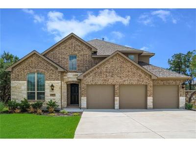 Round Rock Single Family Home For Sale: 3723 Pacific
