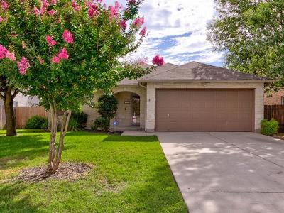 Leander Single Family Home For Sale: 215 Sunny Brook Dr
