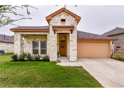 Leander Single Family Home For Sale: 1025 Cotton Patch Trl
