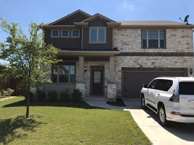 Pflugerville Single Family Home For Sale: 16813 Ruggio Rd