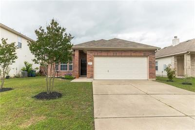 Manor Single Family Home Pending - Taking Backups: 13304 Constellation Dr