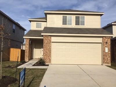Jarrell Single Family Home For Sale: 460 Major Lee