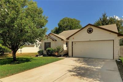 Leander Single Family Home For Sale: 1838 Greening Way