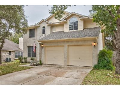 Hays County, Travis County, Williamson County Single Family Home For Sale: 2711 Winding Brook Dr