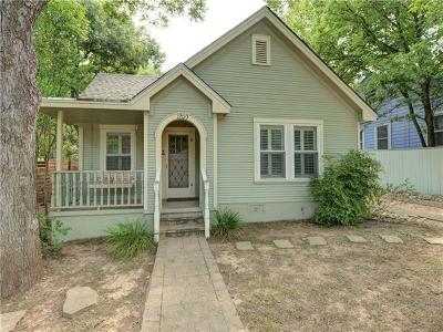 Austin Single Family Home For Sale: 1209 Alta Vista Ave