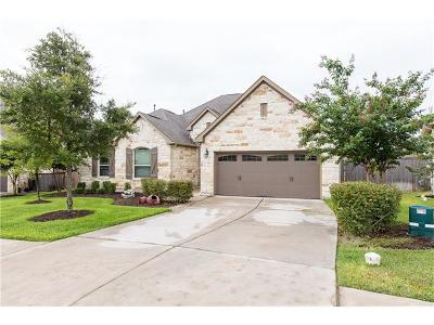 Round Rock Single Family Home For Sale: 4575 Miraval Cir