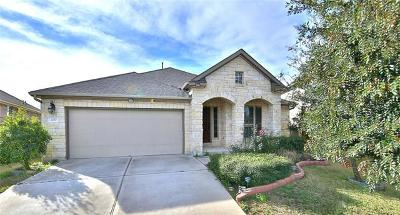 Round Rock Single Family Home For Sale: 2017 Autumn Run Ln