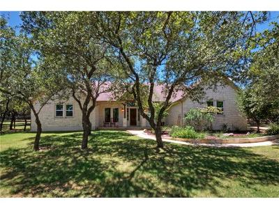 Dripping Springs Single Family Home Pending - Taking Backups: 11225 W Cave Blvd