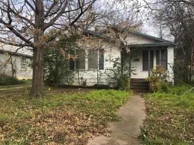 Austin Single Family Home For Sale: 5315 Woodrow Ave