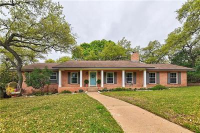 Single Family Home For Sale: 5806 Westslope Dr