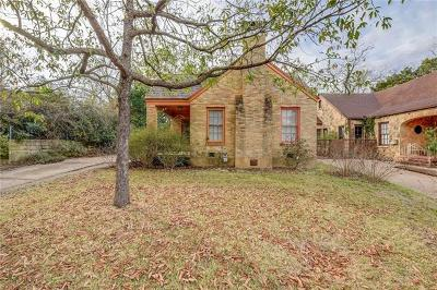 Austin Single Family Home For Sale: 2012 Travis Heights Blvd