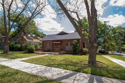 Austin Single Family Home For Sale: 1115 W 22 1/2 St