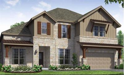 Pflugerville Single Family Home For Sale: 20220 Crested Caracara Ln