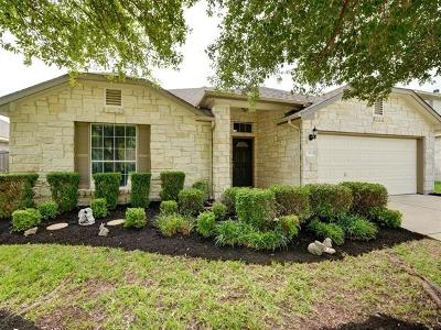 Round Rock Single Family Home For Sale: 333 Hidden Brook Ln