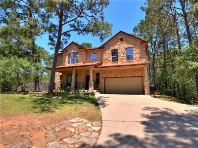 Bastrop County Single Family Home Pending - Taking Backups: 120 Mokolea Ln