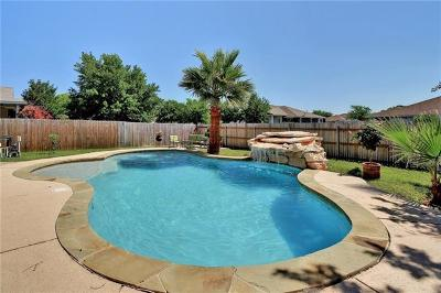 Round Rock Single Family Home For Sale: 3112 Clinton Pl