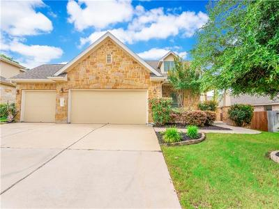 Cedar Park Single Family Home For Sale: 3104 Herradura Dr